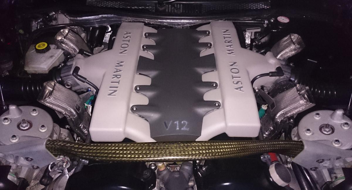 Vanquish V12 Engine
